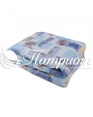 Одеяло синтепон 1.5 спальное в бязи 125 г/м2 (Зима)